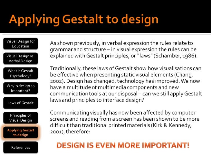 gestalt vs behaviorism Humanism vs behaviorism humanism and behaviorism are important schools in the field of psychology, as such, knowing the difference between humanism and behaviorism is essential for anyone.