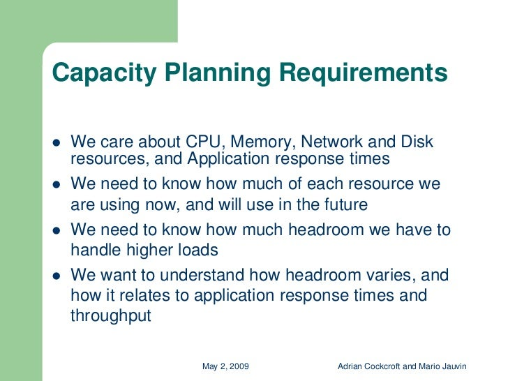 infrastructure capacity planning template.html
