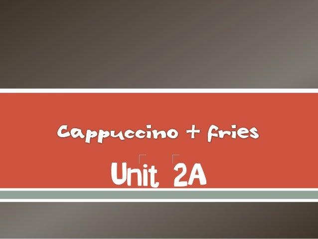 Unit 2A