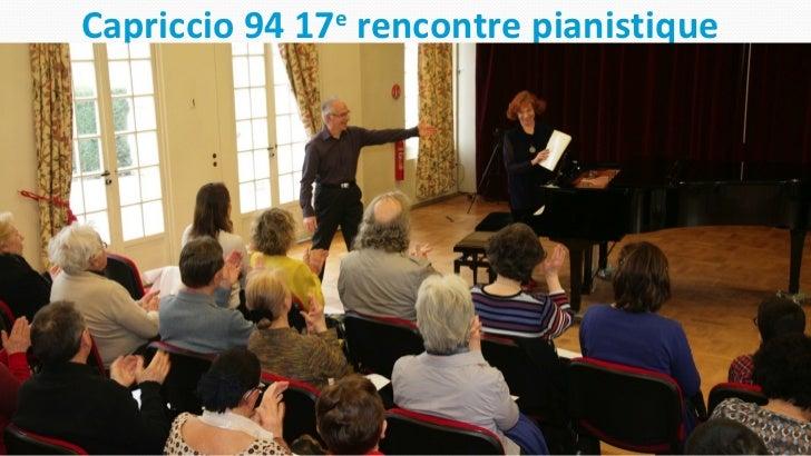 Capriccio 94 17e rencontre pianistique