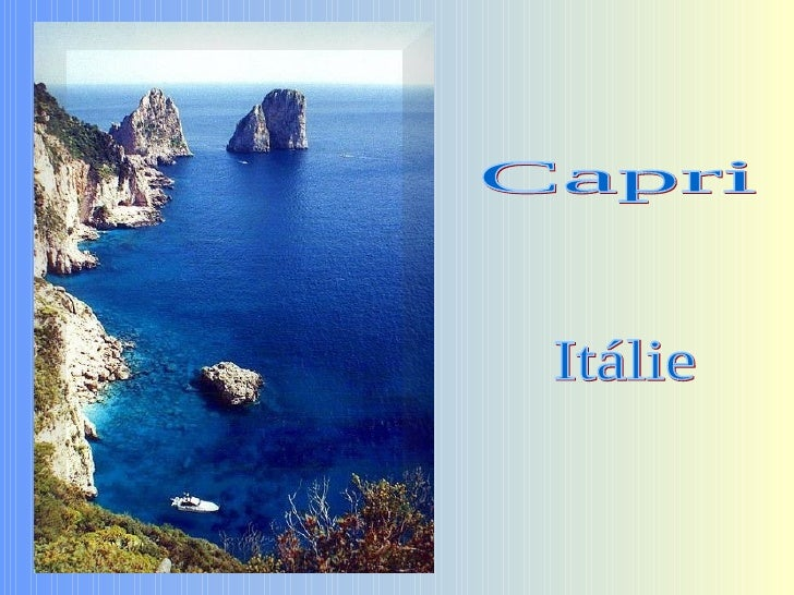 Capri Itálie