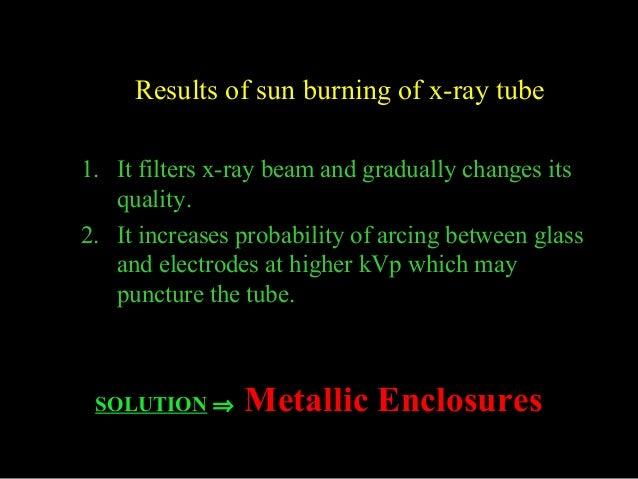 Production of x rays & generators