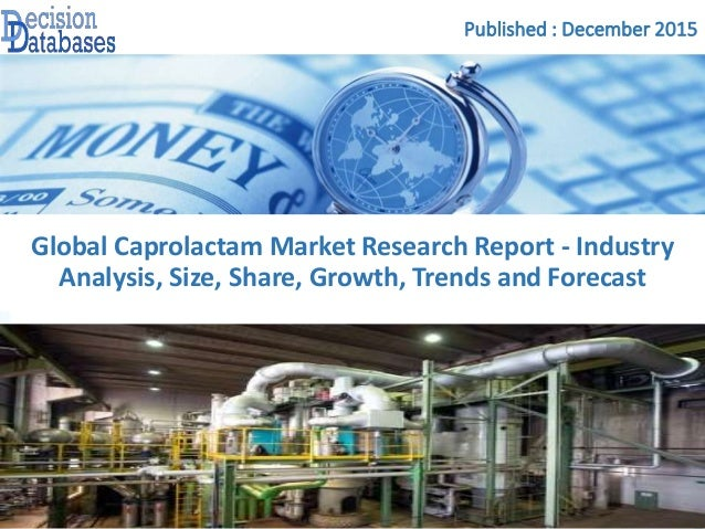 Caprolactam Market Size Worth $174 Billion By 2022 | CAGR 2%