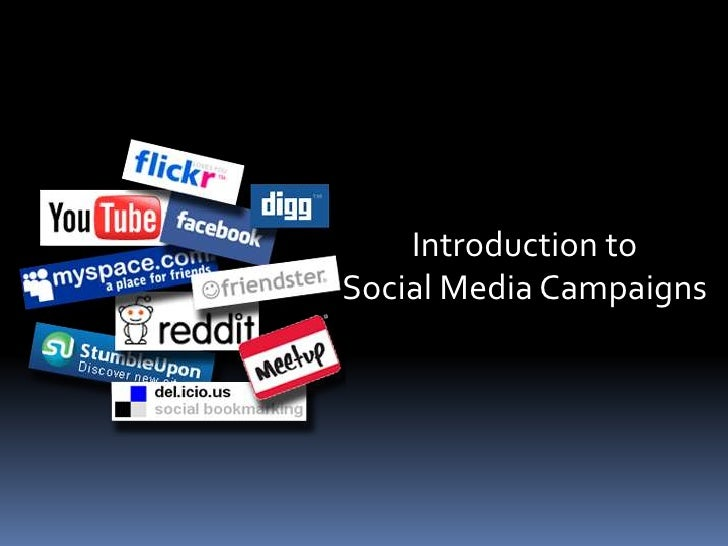 Introduction to                                                   Social Media                                            ...