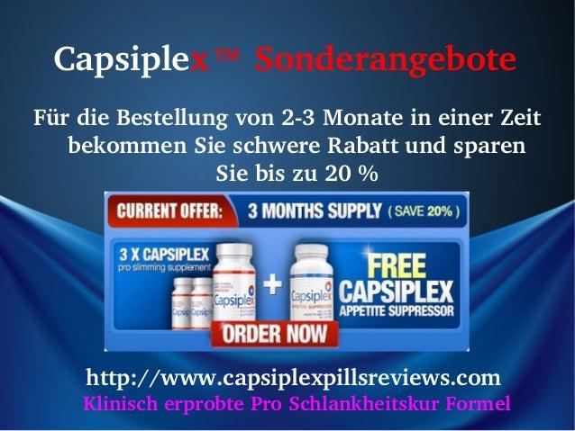 CapsiplexTMSonderangeboteFürdieBestellungvon23MonateineinerZeit   bekommenSieschwereRabattundsparen    ...