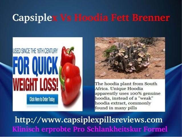 Capsiplex Hoodia Fett-Brenner Slide 2
