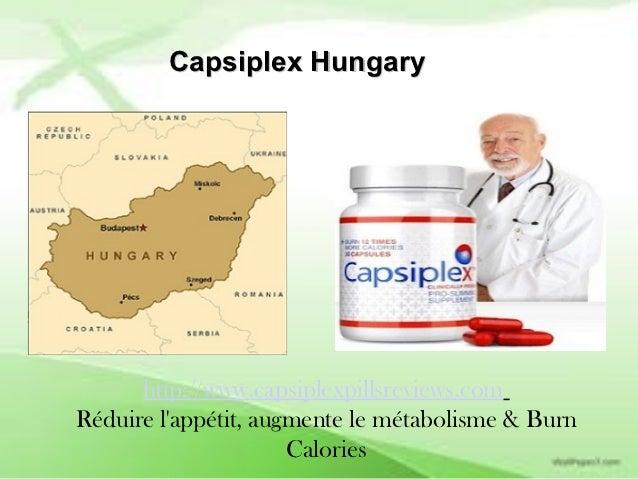 Capsiplex Hungary      http://www.capsiplexpillsreviews.comRéduire lappétit, augmente le métabolisme & Burn               ...