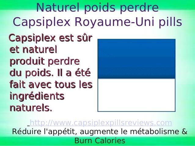 Naturel poids perdreCapsiplex Royaume-Uni pillsCapsiplex est sûret naturelproduit perdredu poids. Il a étéfait avec tous l...