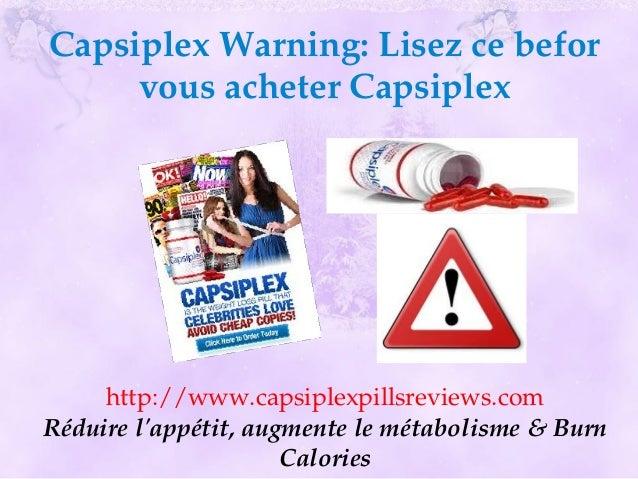 CapsiplexWarning:Lisezcebefor     vousacheterCapsiplex     http://www.capsiplexpillsreviews.comRéduirelappétit,au...