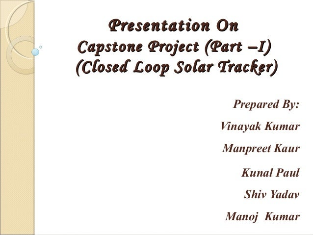 Closed Loop Solar Tracking System