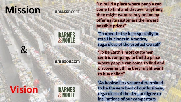 amazon versus barnes together with noble