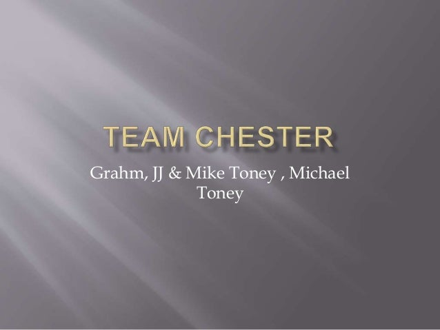 Grahm, JJ & Mike Toney , Michael Toney