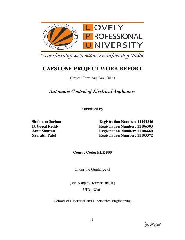 capstone project vcc