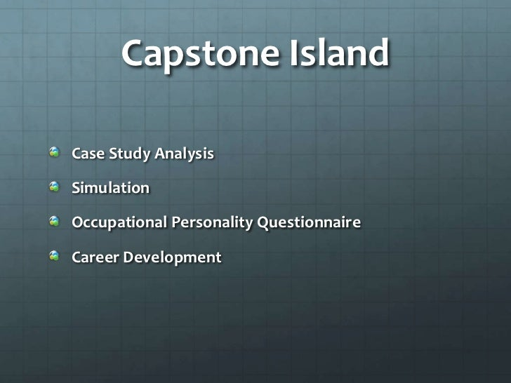 A Case Study From Capstone - Capstone Capital Group