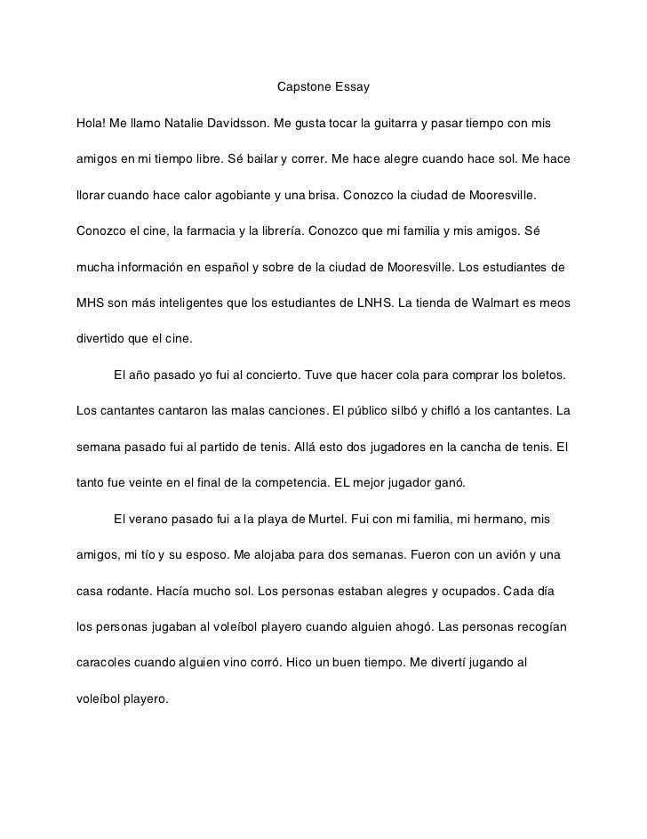 Cancellation, En Mi Tiempo Libre Essay two cents: you