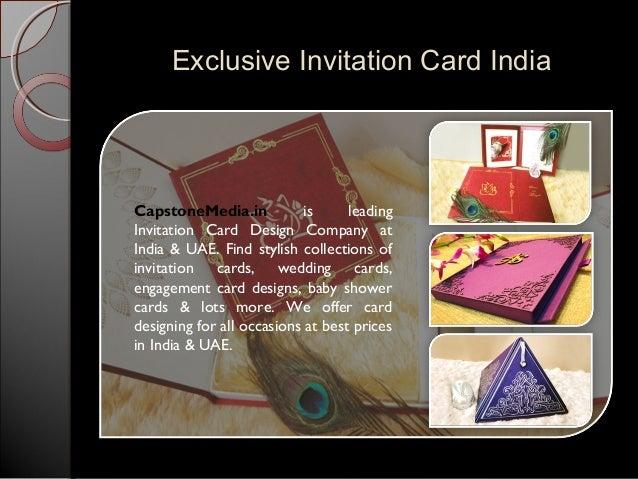 Exclusive wedding invitation card designs 3 exclusive invitation stopboris Choice Image