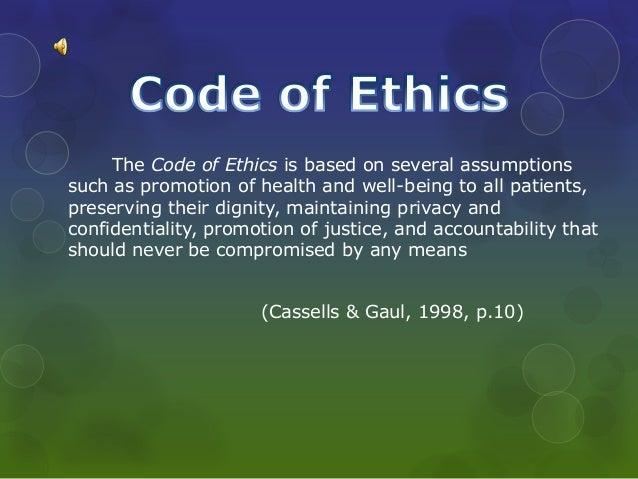 capstone powerpoint ethics