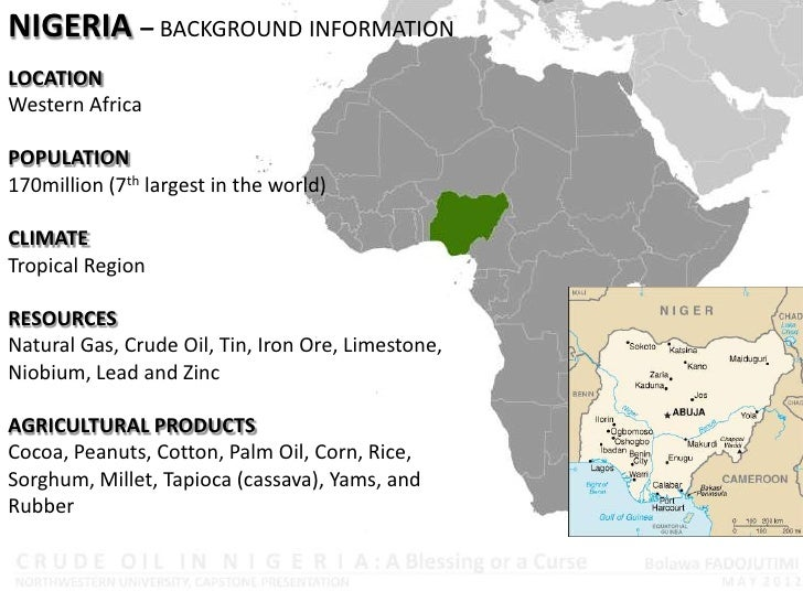 Oil Discovery in Nigeria; Blessing or Curse