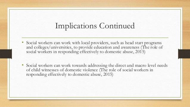 domestic violence capstone I begin with an overview of domestic violence in society as a whole and its connection with welfare i will examine recent welfare policy, specifically tanf, and explain the ramifications it has had and continues to have on women who have experienced domestic abuse.