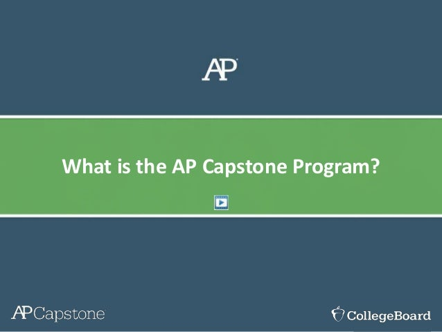 What is the AP Capstone Program?