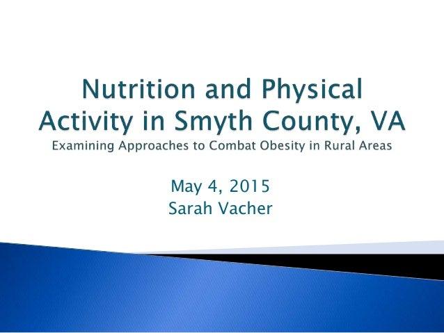 May 4, 2015 Sarah Vacher