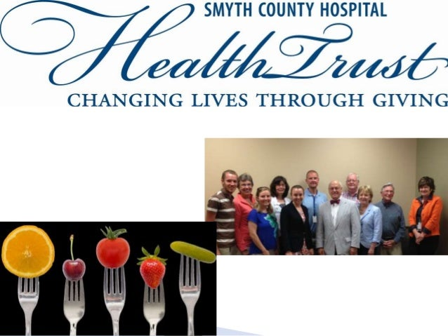  Smyth County ranked 123/133 counties/cities in VA for overall health  Smyth County females ranked middle 50% nationally...