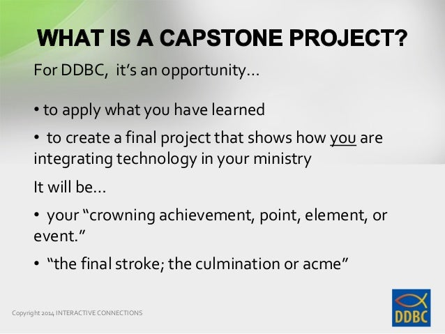 capstone project wikipedia The challenges partnership, collectively and as individual partners, has together with others, over the last couple of years been closely involved in supporting the un dpko in its work.
