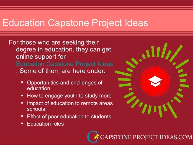 capstone project ideas Are final year project ideas for aviation important at the end of your aviation course, you will be expected to complete a capstone project this.