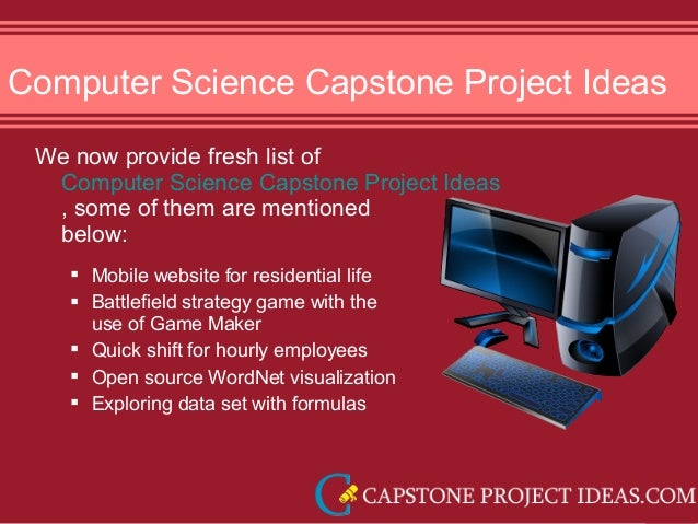 capstone project ideas computer science