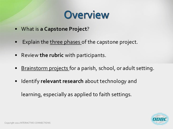 capstone project wikipedia This is a cut and past of guidelines posted for the capstone paper this is a good reference of the deliverables for each section ismt e-200 capstone paper writing.
