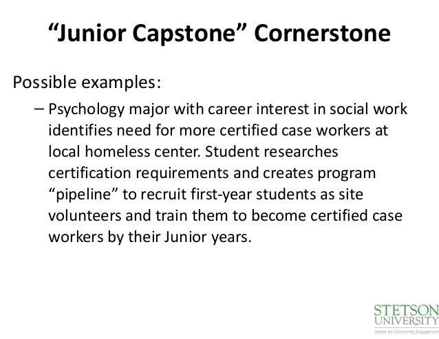Capstone: Sociology and Social Work Practice