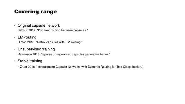 Capsule networks Slide 2