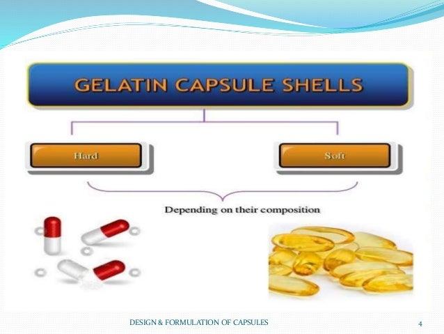 DESIGN & FORMULATION OF CAPSULES 4