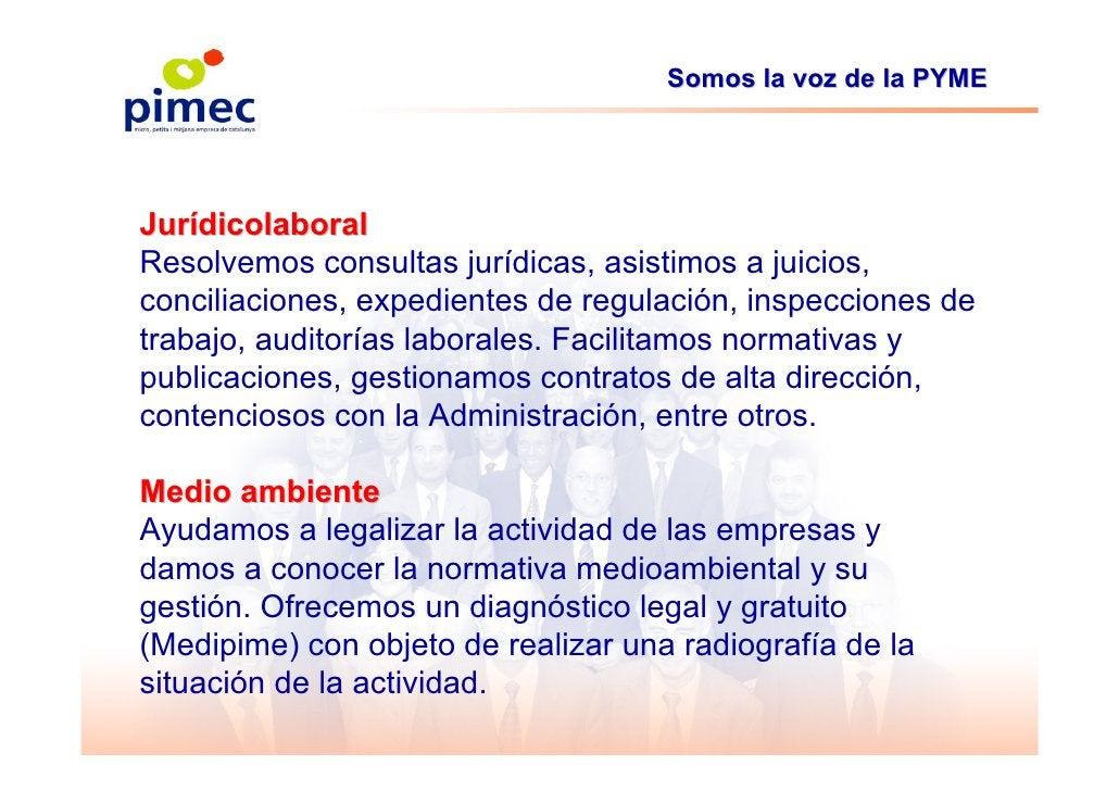 Somos la voz de la PYME     Jurídicolaboral Resolvemos consultas jurídicas, asistimos a juicios, conciliaciones, expedient...