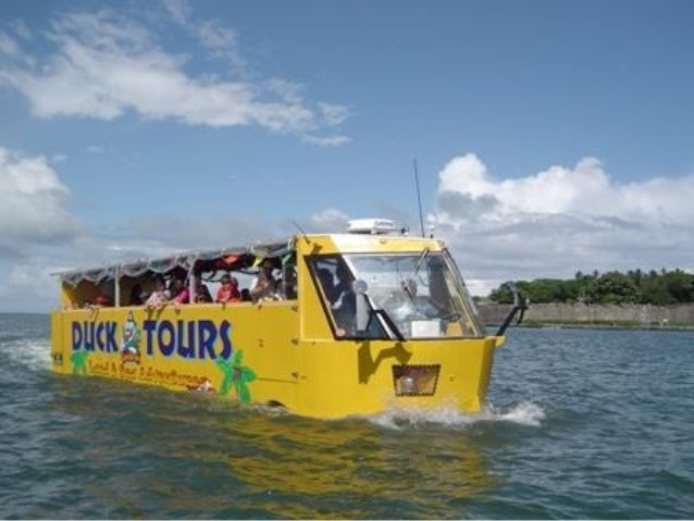 Captain.duck tours in san juan bay puerto rico