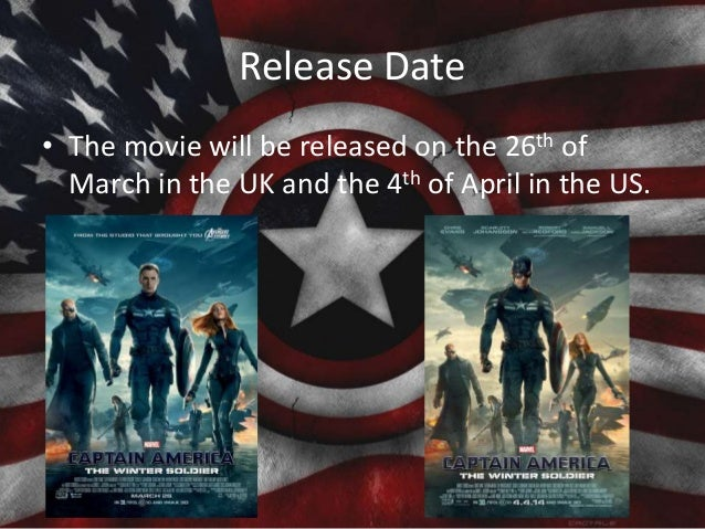Release Date • The movie will be released on the 26th of March in the UK and the 4th of April in the US.