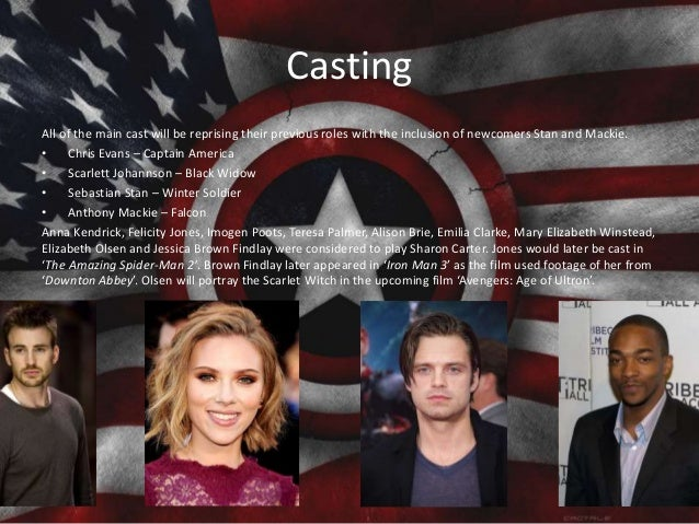 Casting All of the main cast will be reprising their previous roles with the inclusion of newcomers Stan and Mackie. • Chr...