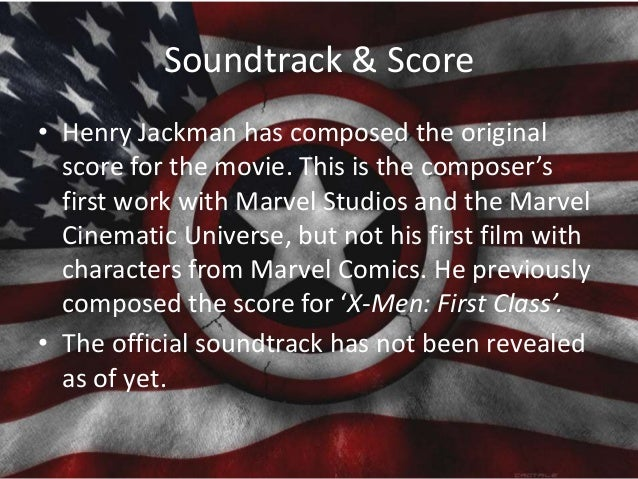 Soundtrack & Score • Henry Jackman has composed the original score for the movie. This is the composer's first work with M...