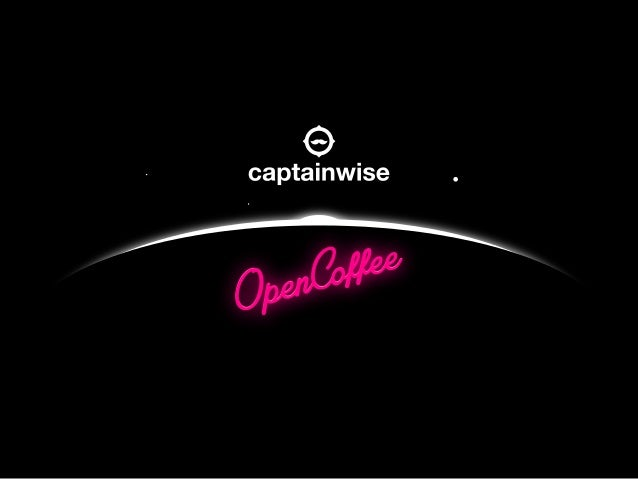 Captainwise at Open Coffee Athens LXXII Tourism