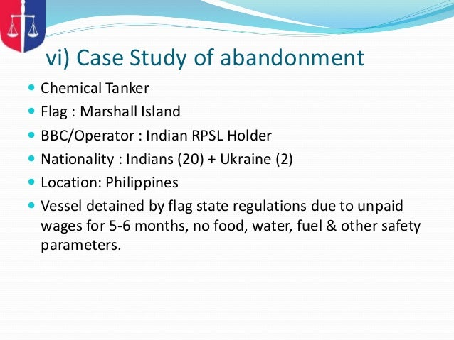 Capt Amol R Deshmukh - MLC Presentation By P&I Correspondent