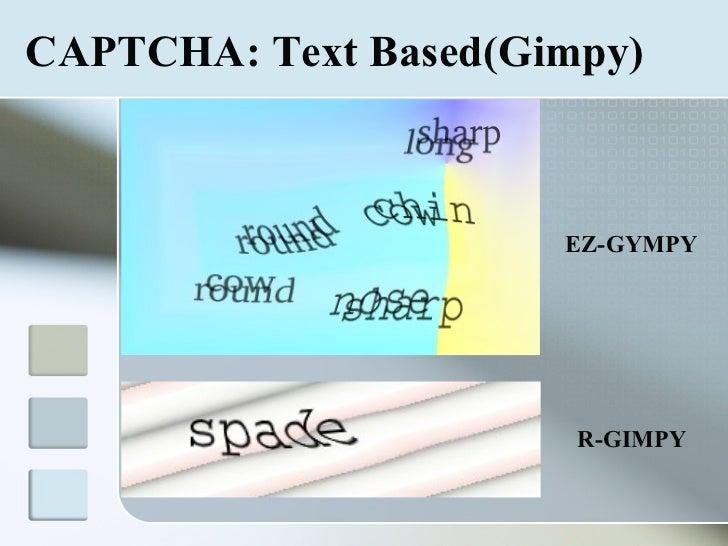 PPT CAPTCHA PowerPoint presentation