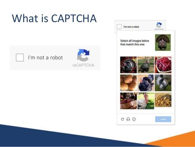 What is CAPTCHA