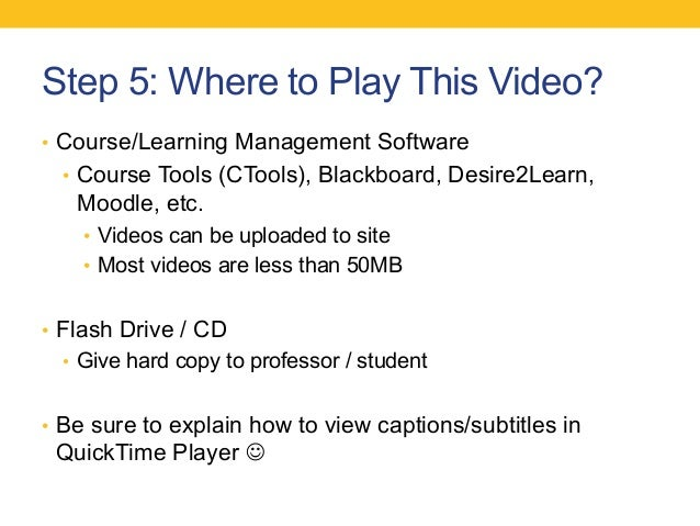 Captioning online media an introductory guide for colleges and unive 32 sciox Choice Image