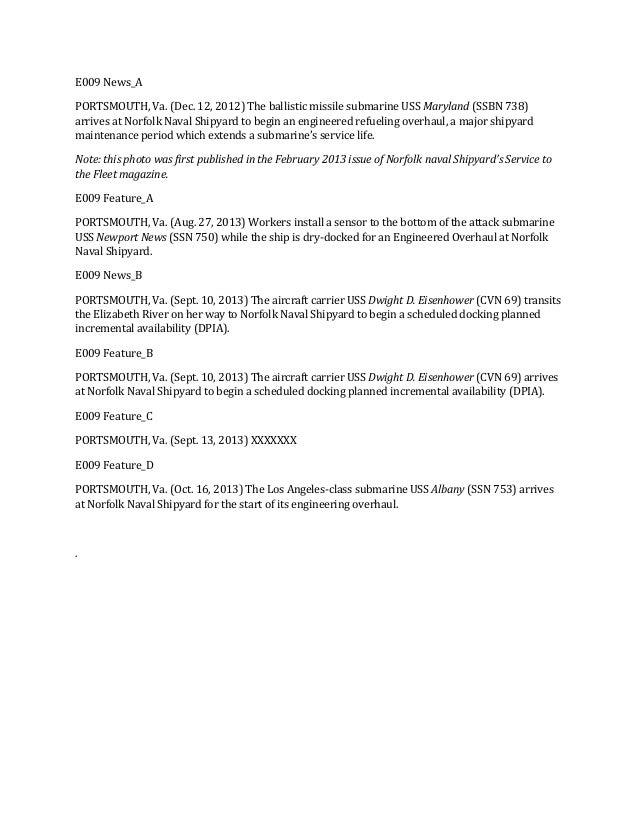 E009 News_A PORTSMOUTH, Va. (Dec. 12, 2012) The ballistic missile submarine USS Maryland (SSBN 738) arrives at Norfolk Nav...