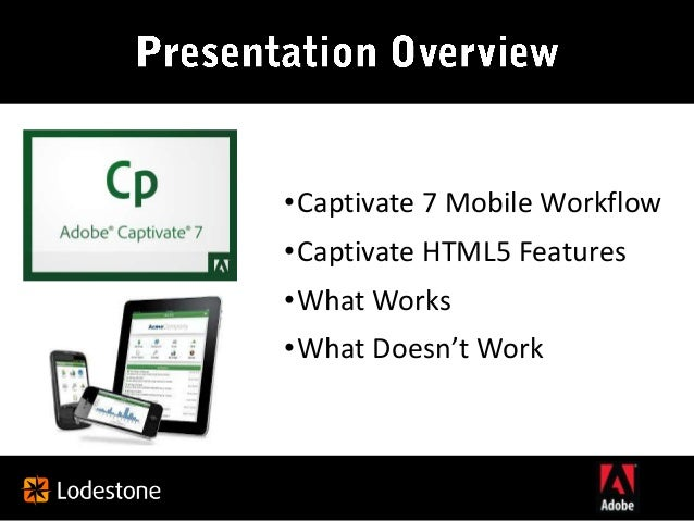 Adobe Captivate 7 and All Things Mobile