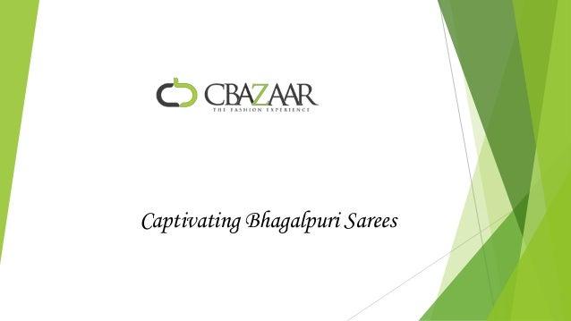 Captivating Bhagalpuri Sarees