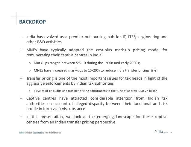 Captive outsourcing models   india tp hygiene workshop - final Slide 2