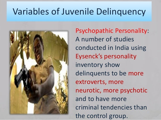 definition and characteristics of juvenile delinquency Characteristics of juvenile offenders 1 juvenile offender characteristics and their draw opinions and generalize about juvenile crime and offending and.