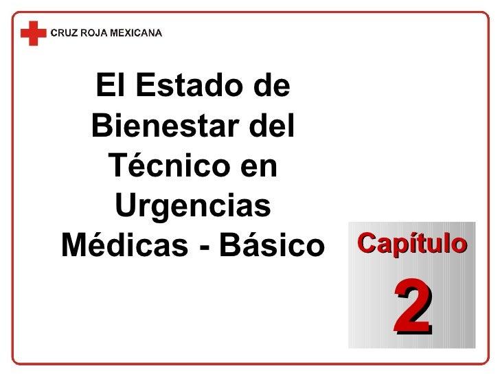 El Estado de Bienestar del Técnico en Urgencias Médicas - Básico Capítulo 2