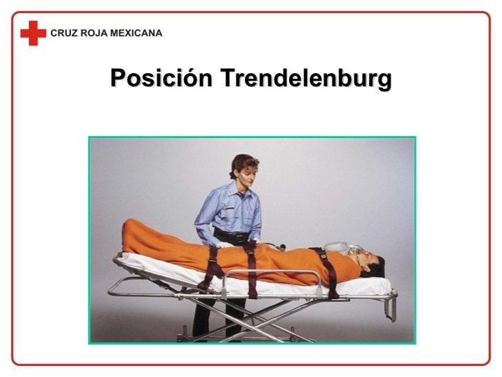 Posición Trendelenburg